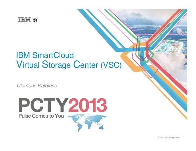 Virtual Storage Center