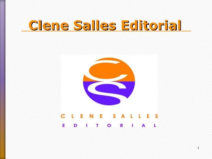 Clene salles editorial CSE