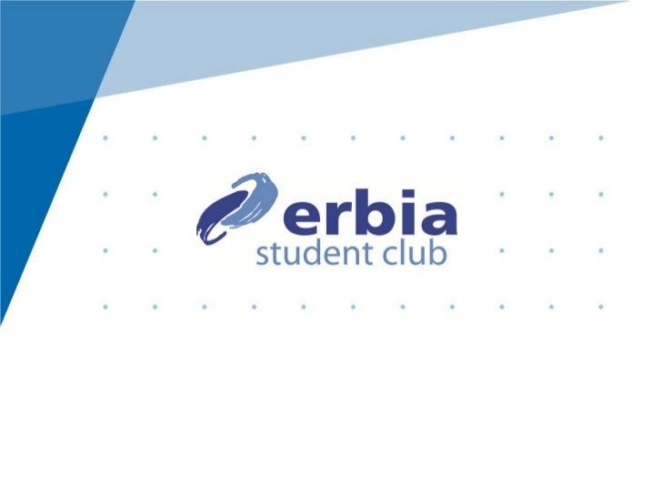 Clenstvi v Erbia Student Club