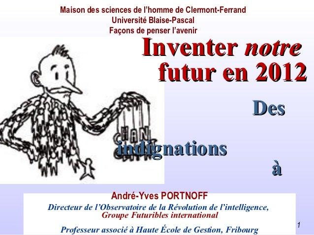 Maison des sciences de l'homme de Clermont-Ferrand                 Université Blaise-Pascal                Façons de pense...