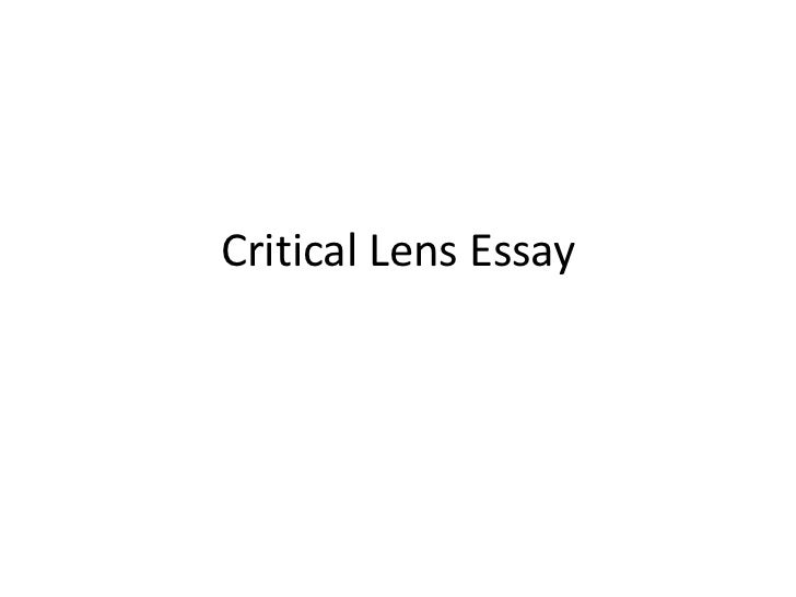 introduction of a critical lens essay How to write an introduction to a critical lens essay click to continue write my university essay outline – academic essay writers is offering your write my university essay questions term papers, thesis papers, research.
