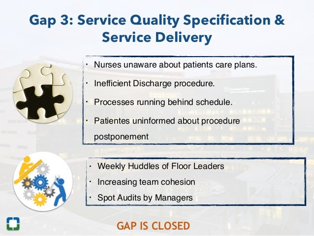 assessment of service quality the case Assessment of guest satisfaction of service quality of the hotel by seonhwa yun a research paper submitted in partial fulfillment of.