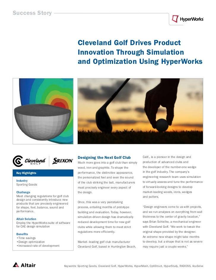CASE - Cleveland golf 101410