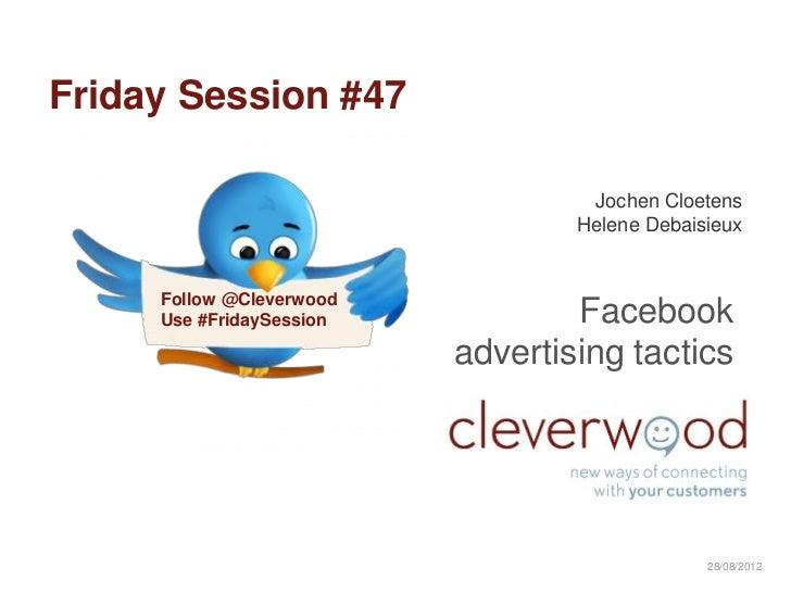 Facebook Advertising Tactics