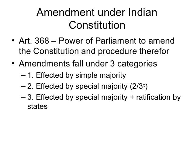 Indian Constitution Structure Under Indian Constitution