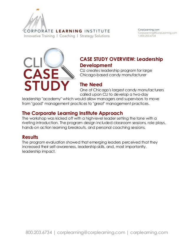 case study on leadership issues Learningedge at mit sloan offers case studies on topics such as ethics and leadership learn more about these contemporary business issues.
