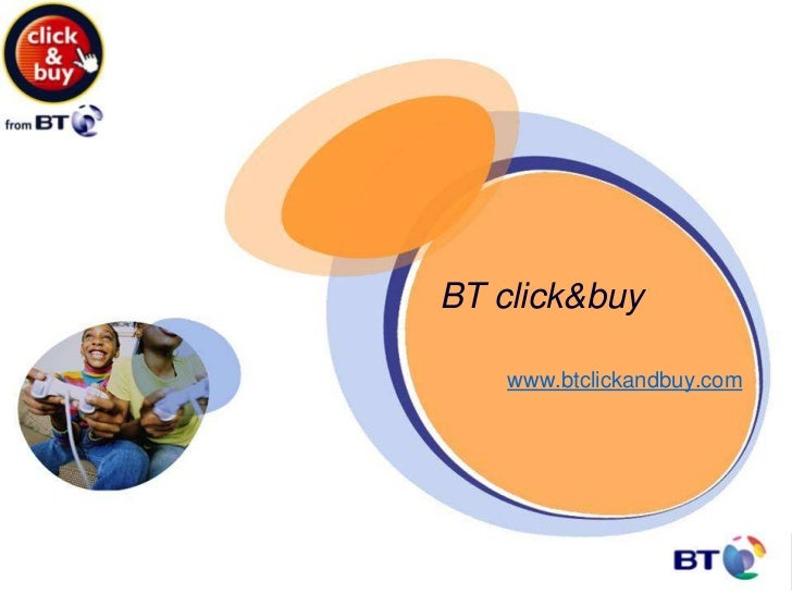 BT click&buy    www.btclickandbuy.com