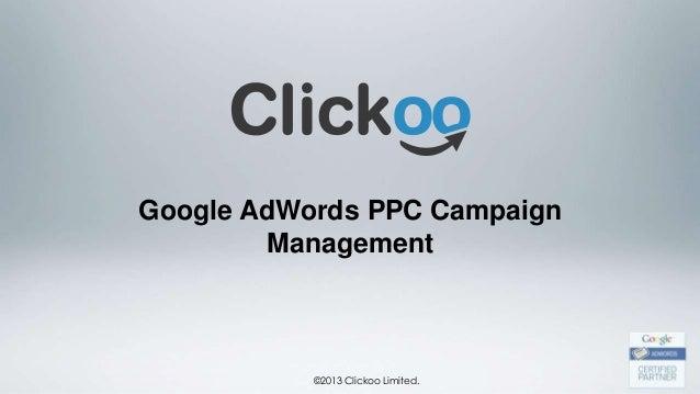 Clickoo® AdWords PPC Agency