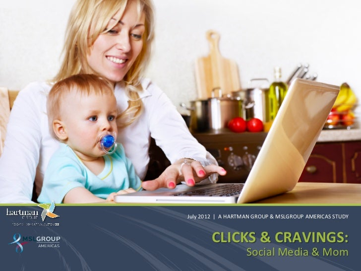 Clicks and Cravings: Social Media & Moms