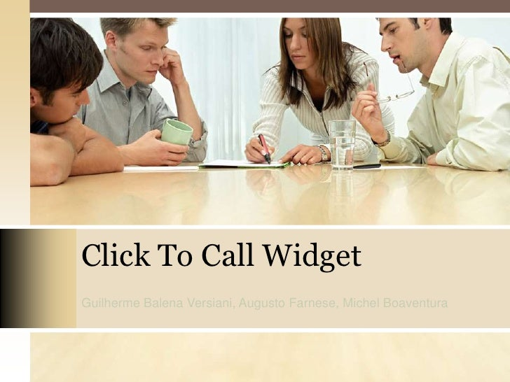 Click to call   widget