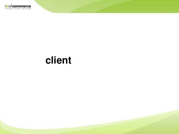 Client   responsive design
