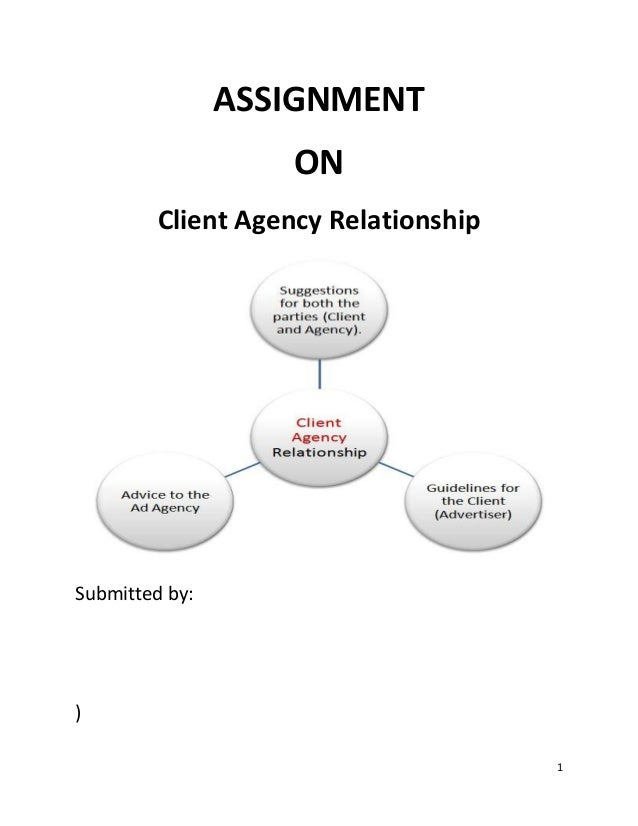 Client agency relationship