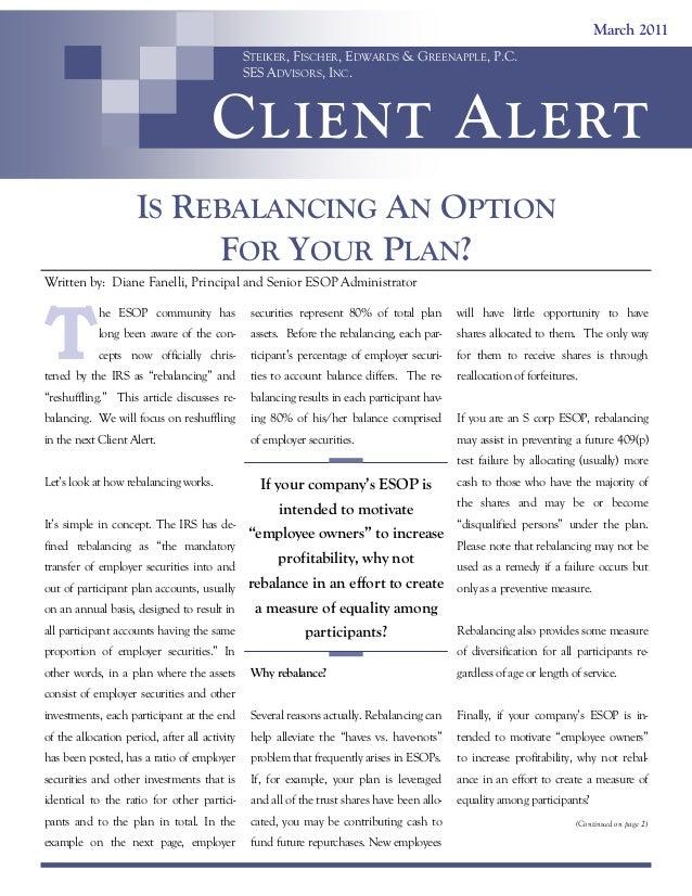 Client Alert: March 2011