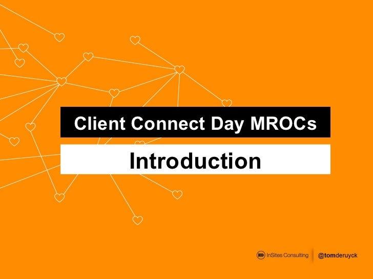 Client Connect Day MROCs (London)