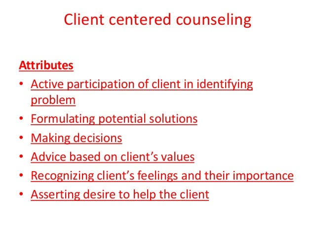 building rapport in the counseling relationship between counselor