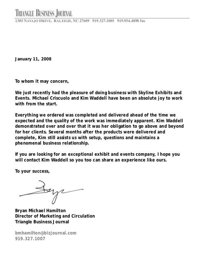 Community Service Recommendation Letter Letter From Community For