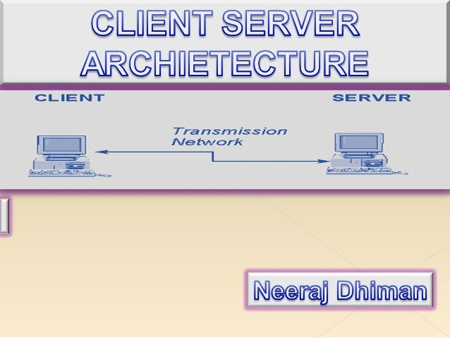 A networkarchietechture inwhich eachcomputer orprocess on thenetwork iseither or a server.