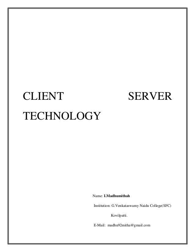 Clientserver