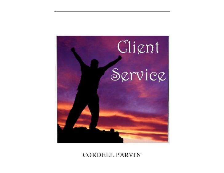 Client service iBook