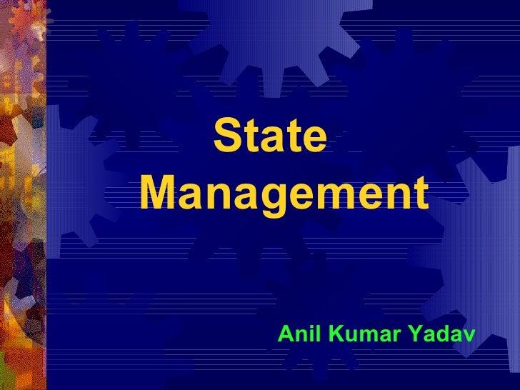 state managment