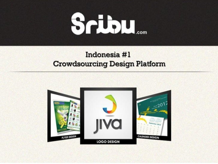 Sribu.com crowd sourcing design platform