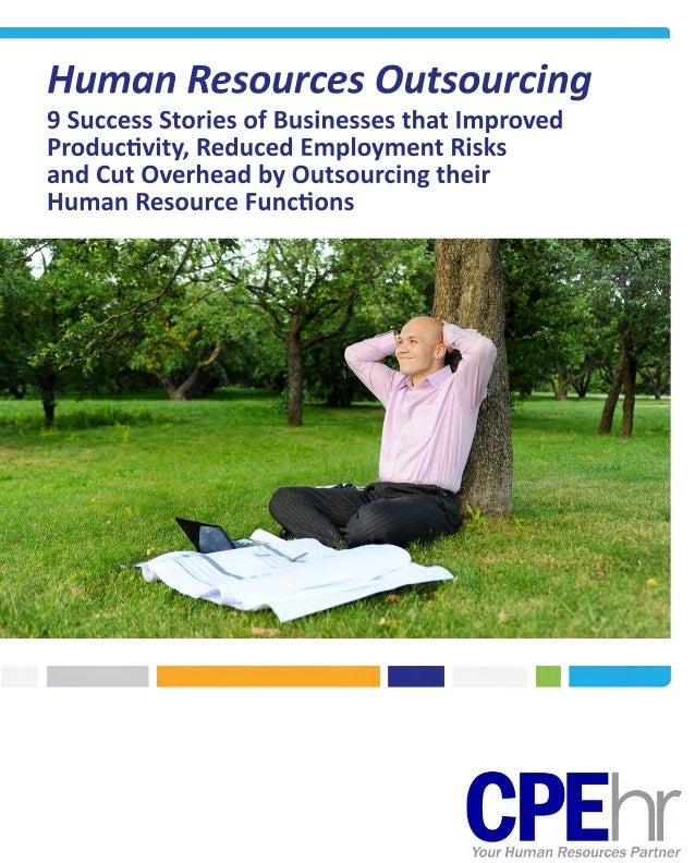 HR Outsourcing Client Success Stories