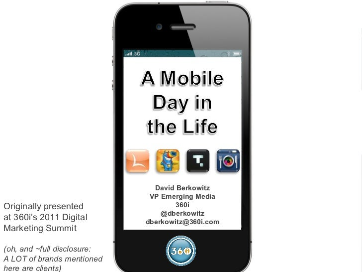 A Mobile Day in the Life: 24 Hours in the Age of the MEGAphone