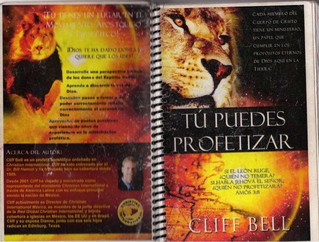 Cliff bell   tu puedes profetizar
