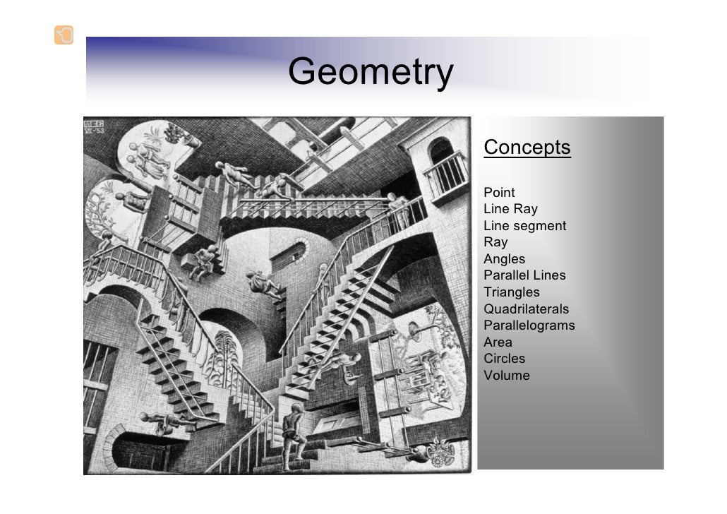 Geometry           Concepts           Point           Line Ray           Line segment           Ray           Angles      ...