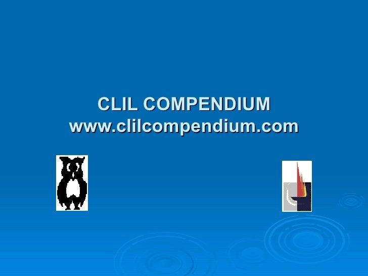 CLIL Compendium