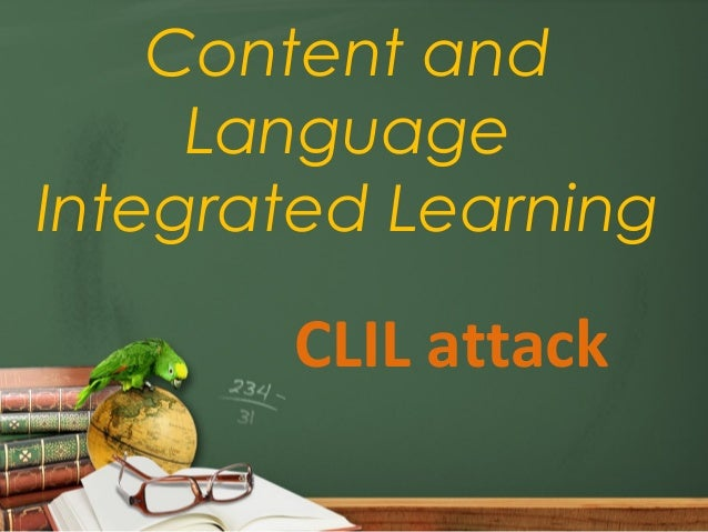 Clil session for Applied Linguistics class