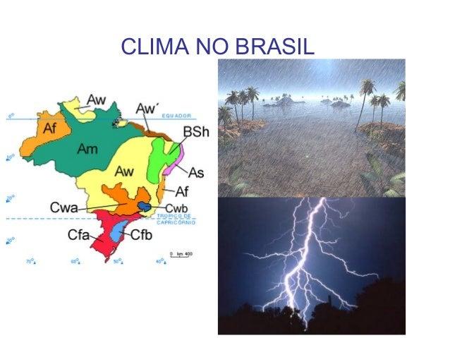 Clima no-Brasil  2º  ano