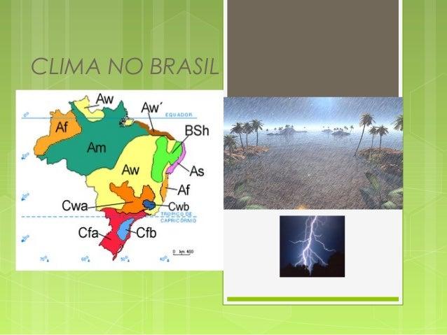 Clima no-brasil  2º  ano hoje