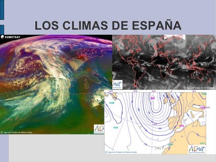 Climas elementos