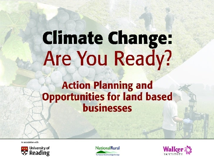 Climate Change 2007 AM slides