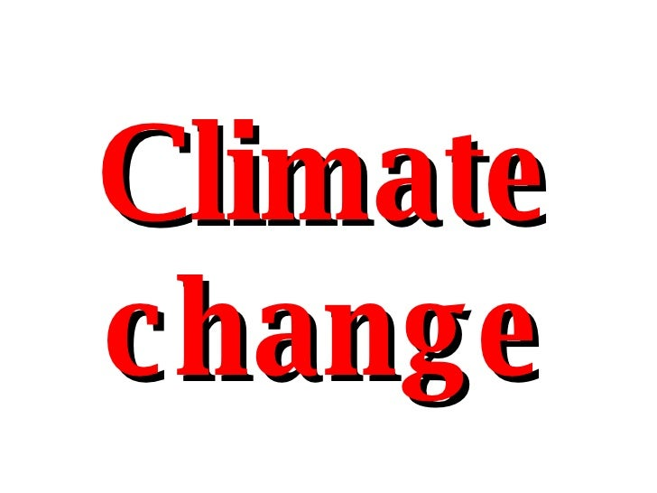 Climate Crisis Clusterfuck