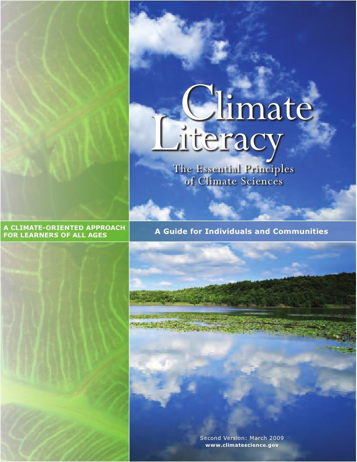 Climate%20 Literacy%20 Booklet%20 Low Res