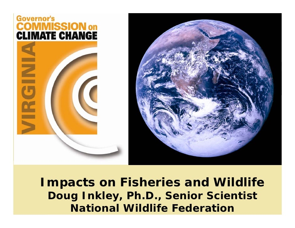 Impacts on Fisheries and Wildlife  Doug Inkley, Ph.D., Senior Scientist     National Wildlife Federation