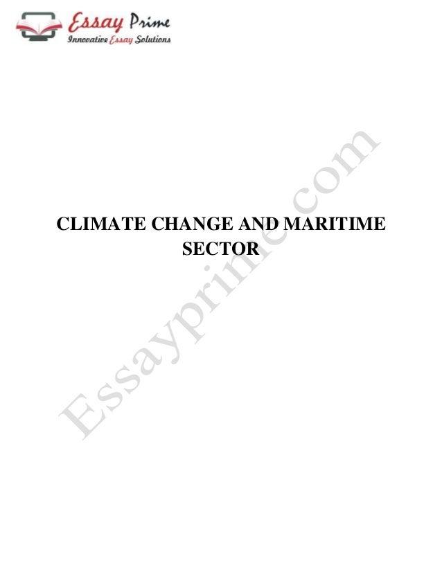 Maritime Essay Topics