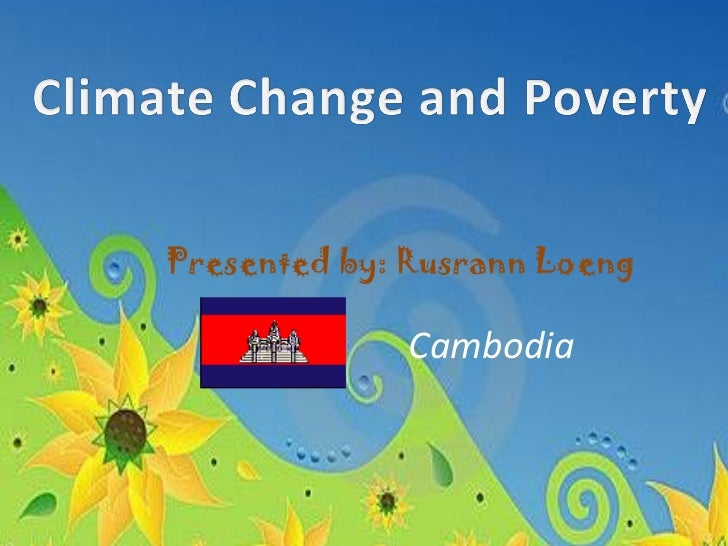 Climate change and_poverty_presentation