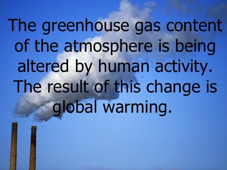 Can technology cause Global warming?