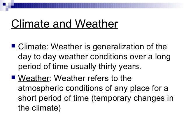 Weather Report Essay