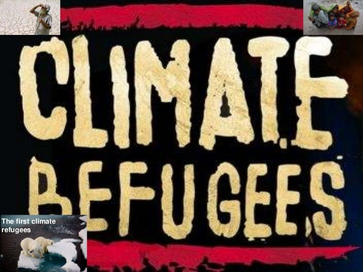The first climaterefugees