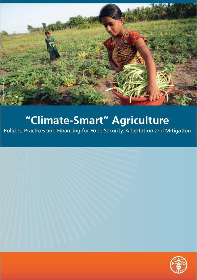 "©FAO/Ishara Kodikara / FAO                             ""Climate-Smart"" Agriculture                   Policies, Practices a..."