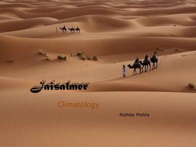 JaisalmerClimatologyNishita Mohta