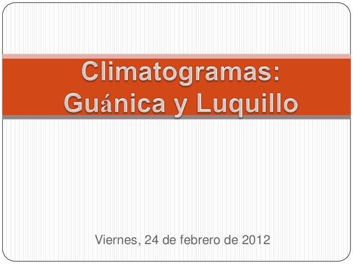 Viernes, 24 de febrero de 2012