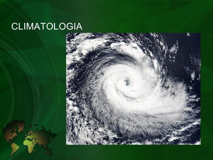 Geografia - Climatologia geral e do Brasil
