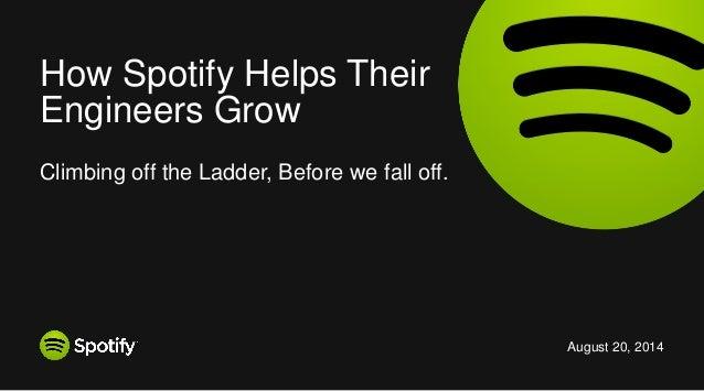 How Spotify Helps Their Engineers Grow - Chris Angove