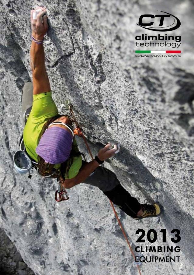 Catálogo Climbing tecnology 2013