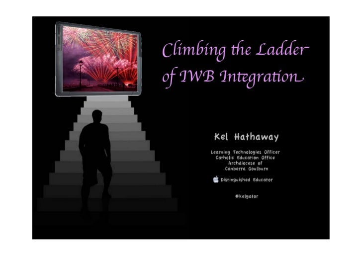 Climbing the Ladder of IWB Integration